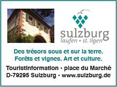 Sulzburg Des Tresor sous et sur la terre.