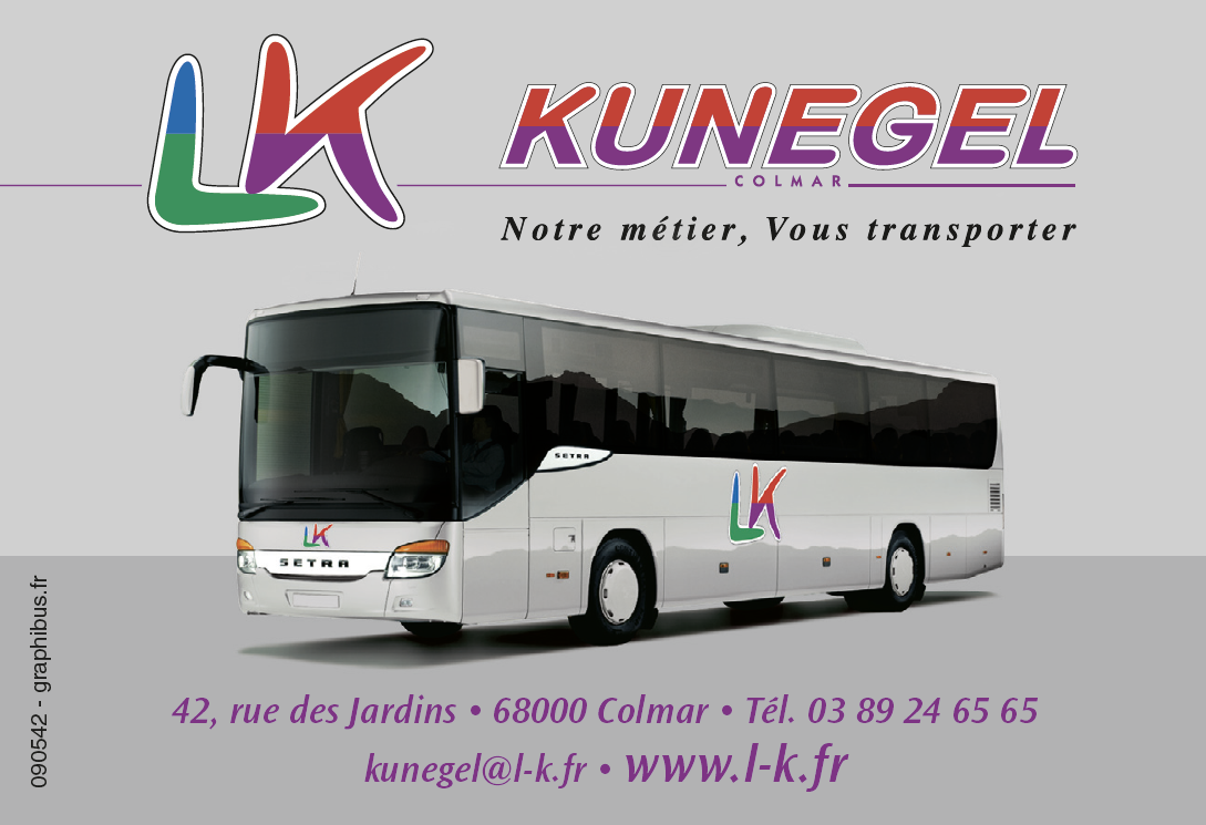 Voyages en car avec Kunegel