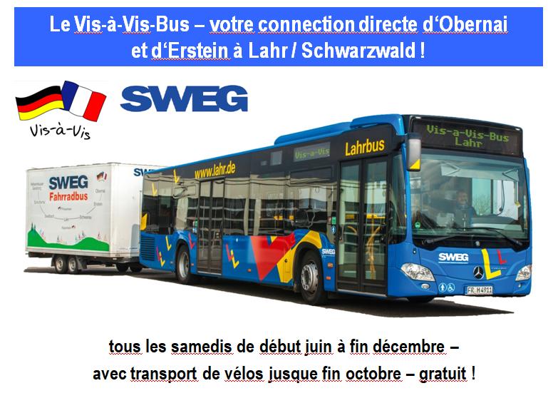 Vis-a-vis-Bus Obernai Erstein Lahr