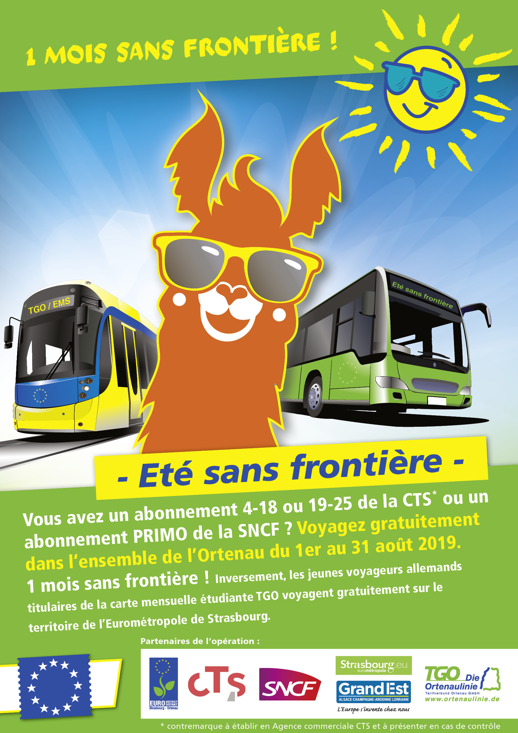 eleves ete sans frontiere bus train